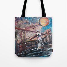 Two Travelers Tote Bag