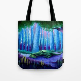 The Sleeping Dragon Tote Bag