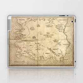 Map of Imirillia Laptop & iPad Skin