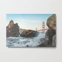sf by day Metal Print