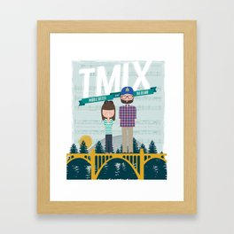 TMix Poster Framed Art Print