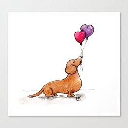 Boba Love Canvas Print