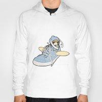 sneaker Hoodies featuring Sneaker ridin' by catamariii