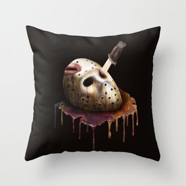 Friday The 13th Throw Pillow