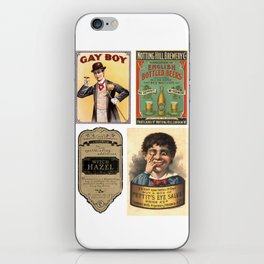 Vintage Ads iPhone Skin