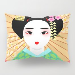 Geisha Pillow Sham