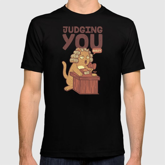 I'm Judging You Cat T-Shirt T-shirt