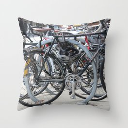 Spoke Too Soon Throw Pillow