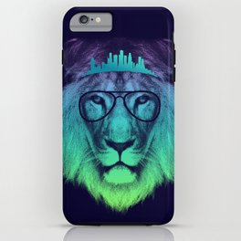 Kingdom Of The Lion (Colour Version) iPhone Case