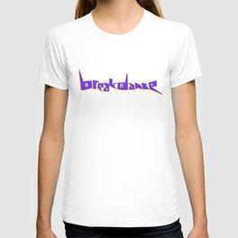 Breakdance Blue Type T-shirt