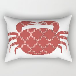 CRAB SILHOUETTE WITH PATTERN Rectangular Pillow