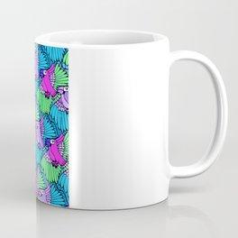 Tessellated Parrots Pink Coffee Mug
