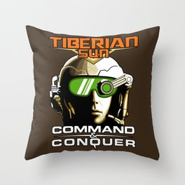 Tiberian Sun Commander Throw Pillow