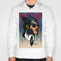 karl lagerfeld Hoodies featuring wolvereen  vs Karl Lagerfeld  by el brujo