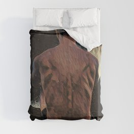 How Will I Know If He Really Loves Me? Duvet Cover