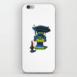 Robot-Bob iPhone Skin