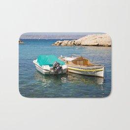 Floating Marseille Bath Mat