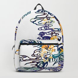 ASIAN PEACOCK Backpack