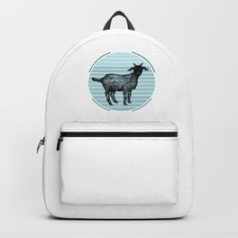 Distressed Goats Backpack