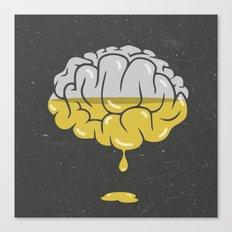 liquefy brain Canvas Print