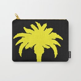 Yellow Palm Tree Carry-All Pouch