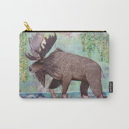Lumbering Moose Carry-All Pouch