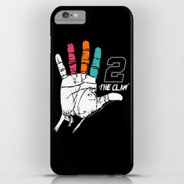 Kawhi Leonard Art iPhone Case