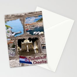 Dubrovnik, Croatia Stationery Cards