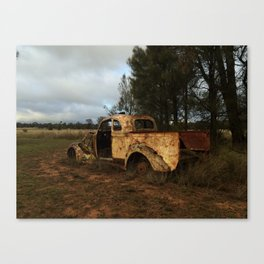 Old Ute Rusting Canvas Print