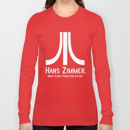 Hans Zimmer Movie Score Production System Long Sleeve T-shirt