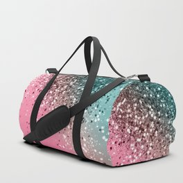 Tropical Watermelon Glitter #2 #decor #art #society6 Duffle Bag
