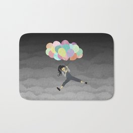 Balloon Ride Bath Mat