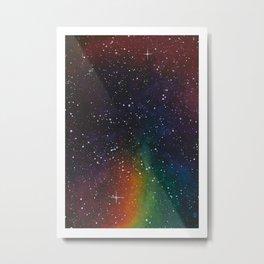 Skittles Stardust Metal Print