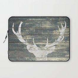 Rustic Deer Silhouette A311 Laptop Sleeve