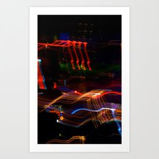 Macau lights Art Print