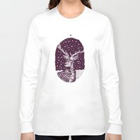 deer Long Sleeve T-shirts featuring Deer by BernardoMajer