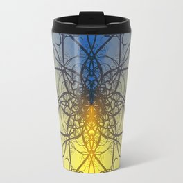 Symmetry 8: Jellyfish Travel Mug