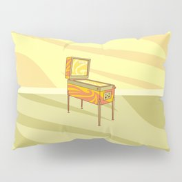 Retro games pinball machine Pillow Sham