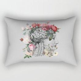 Beautiful Brain ~ Gray Rectangular Pillow