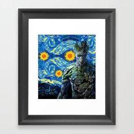 Guardian of the starry night iPhone 4 4s 5 5c 6, pillow case, mugs and tshirt Framed Art Print