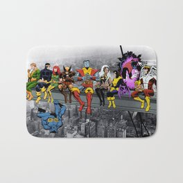 X-Men Lunch Atop A Skyscraper Bath Mat