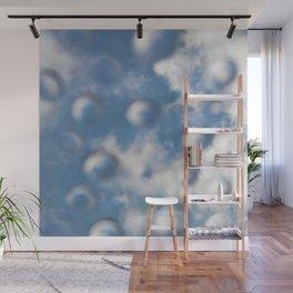 Sky Bubbles #abstract #art #society6 #decor Wall Mural