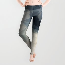 LOWPOLY GEOMETRIC SKY Leggings