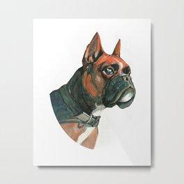 Boxerdog Metal Print