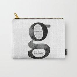 O.G. Garamond Carry-All Pouch