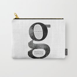 O.G. Garamond Carry-All Pouch