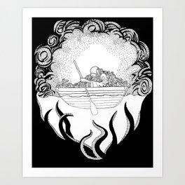 Dead in the Water Art Print