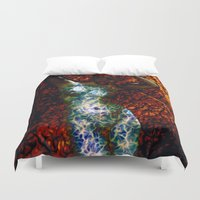 into the wild Duvet Covers featuring Wild by Stephen Linhart