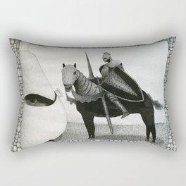 Honor & Glory Knight Rectangular Pillow