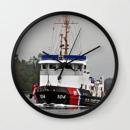 Biscayne Bay USCGC Wall Clock